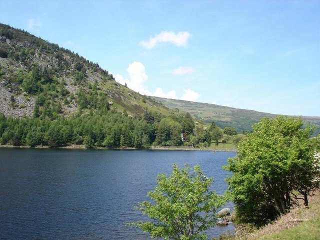 Northern tip of Llyn Geirionydd - geograph.org.uk - 181437