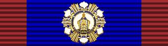 Кавалер Большого креста ордена Святого Фердинанда за Заслуги