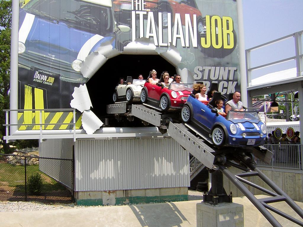 backlot stunt coaster � wikipedia