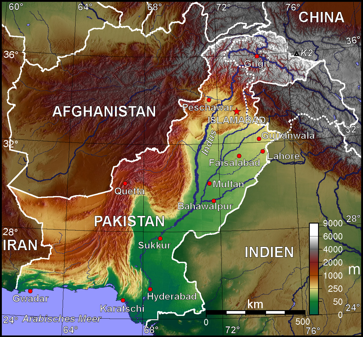 Atlas Of Pakistan Wikimedia Commons