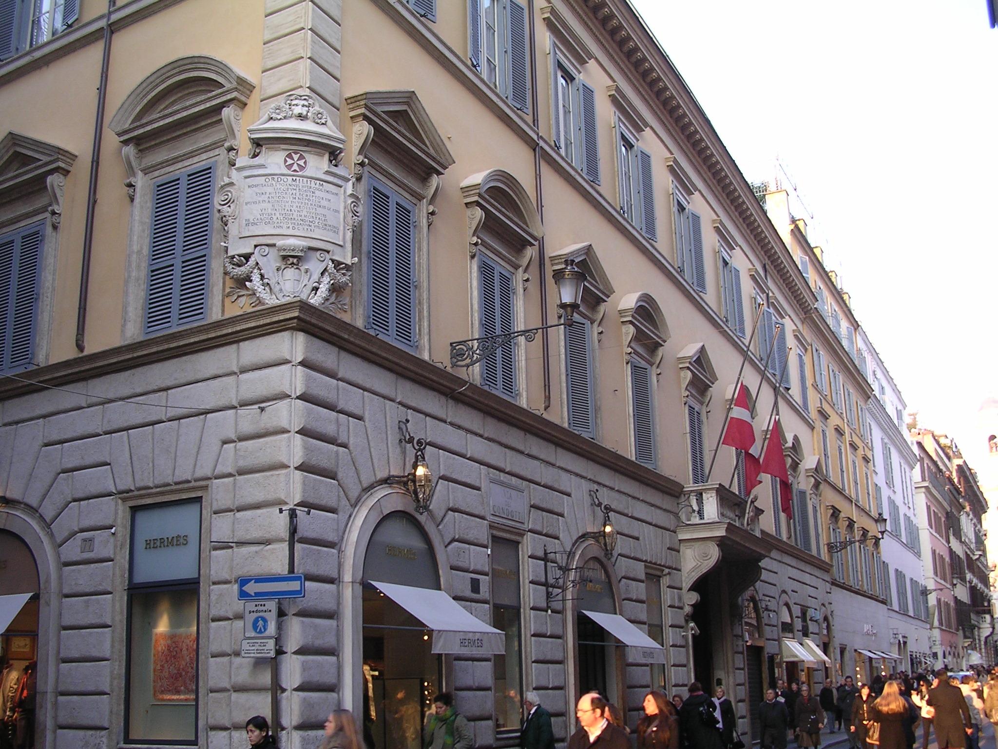 Top 10 países más pequeños del mundo que no sabías que existían - Palazzo di Malta (Roma)