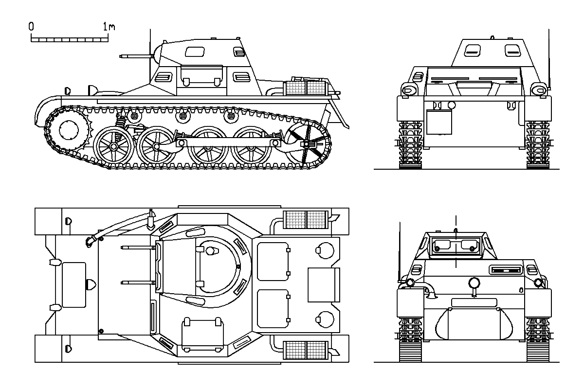1000 images about panzer i on pinterest for Cistern plans