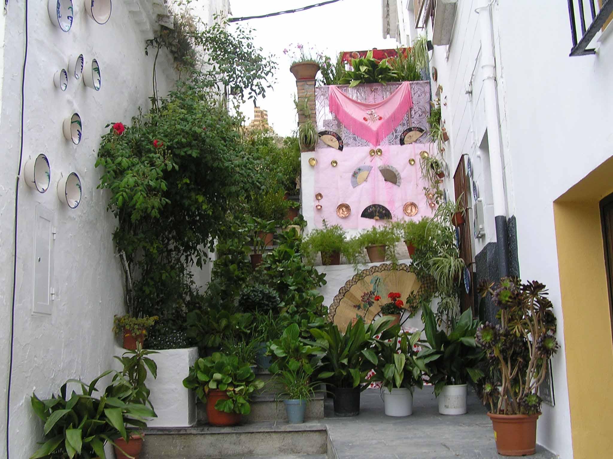 Ficheiro Patio Decorado Alcal La Real Ja N Andalusia