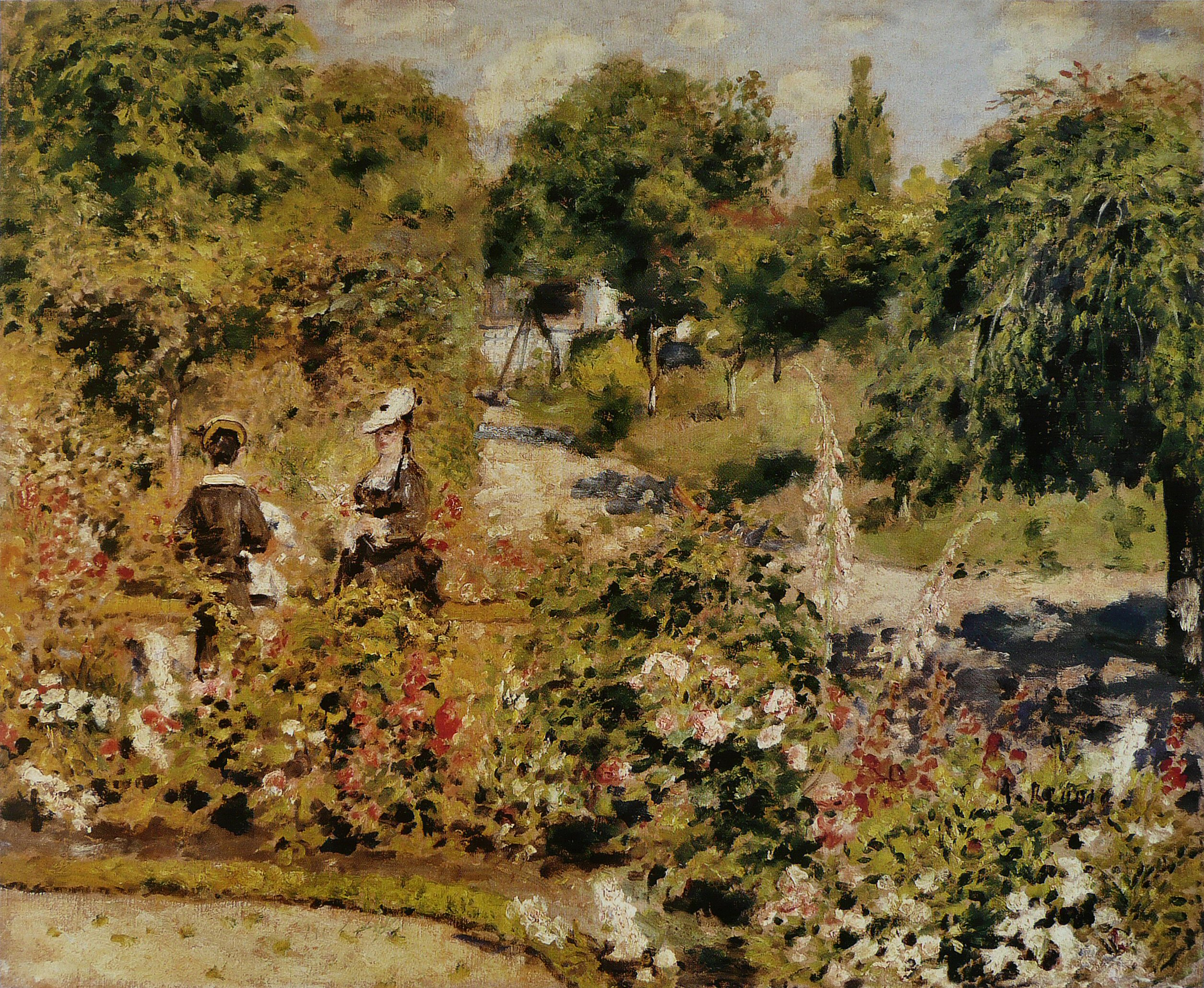 Elegant File:Pierre Auguste Renoir   Jardin à Fontenay