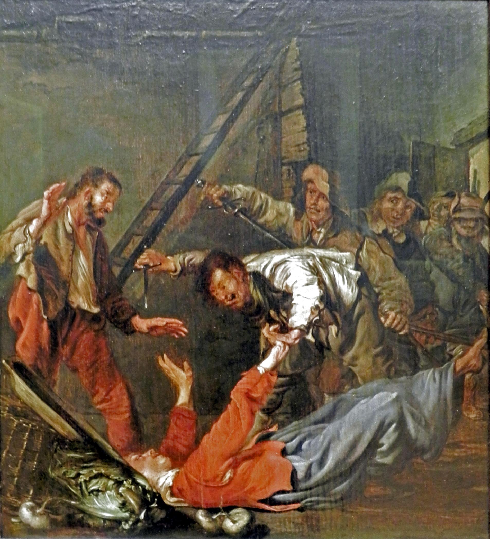 Pieter Codde, Überfall, Quelle: WikiCommons, Details siehe Artikel unten