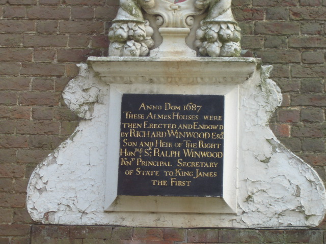 Plaque, Almshouses, Church Street, Quainton - geograph.org.uk - 435722