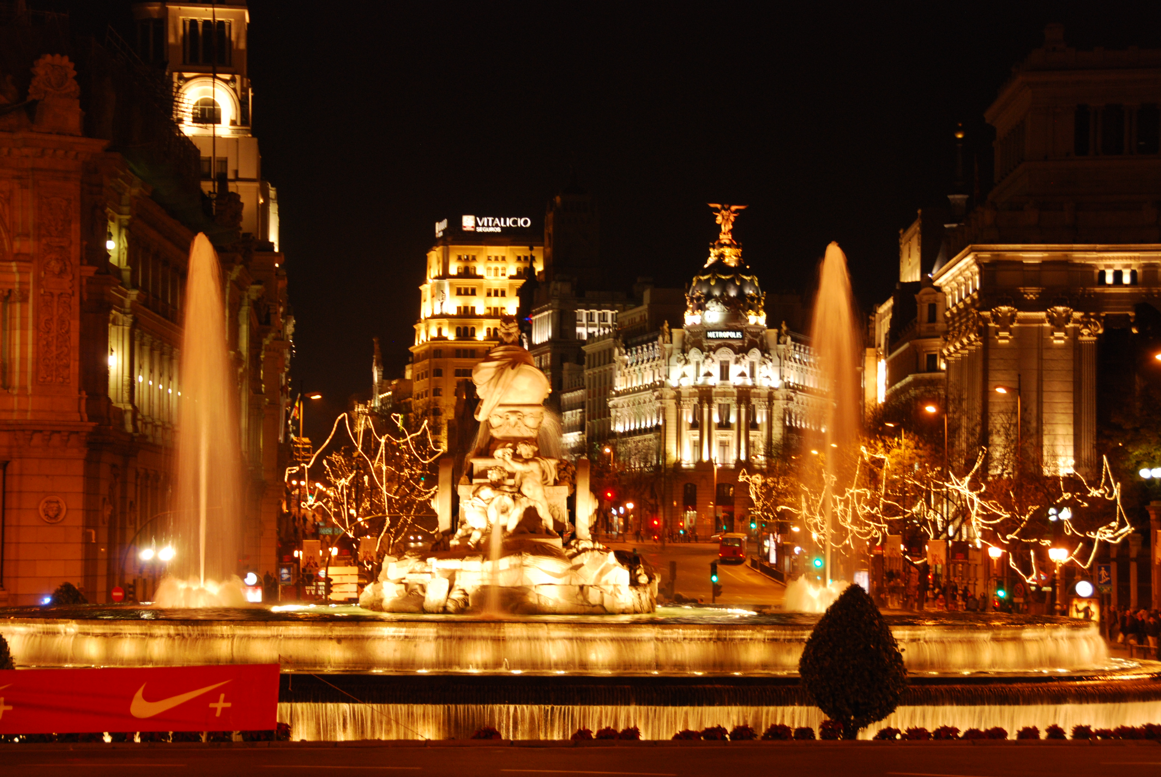 Madrid, Spain christmas