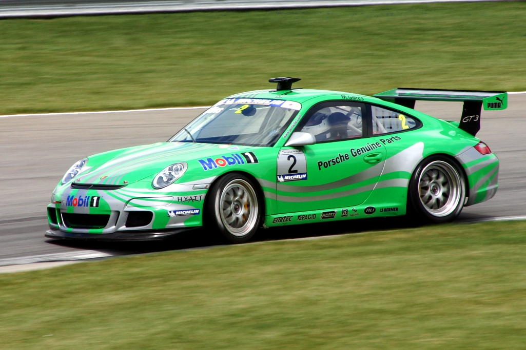 Green Race Car Pictures