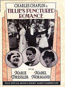 póster de la película Tillie´s Punctured Roman...
