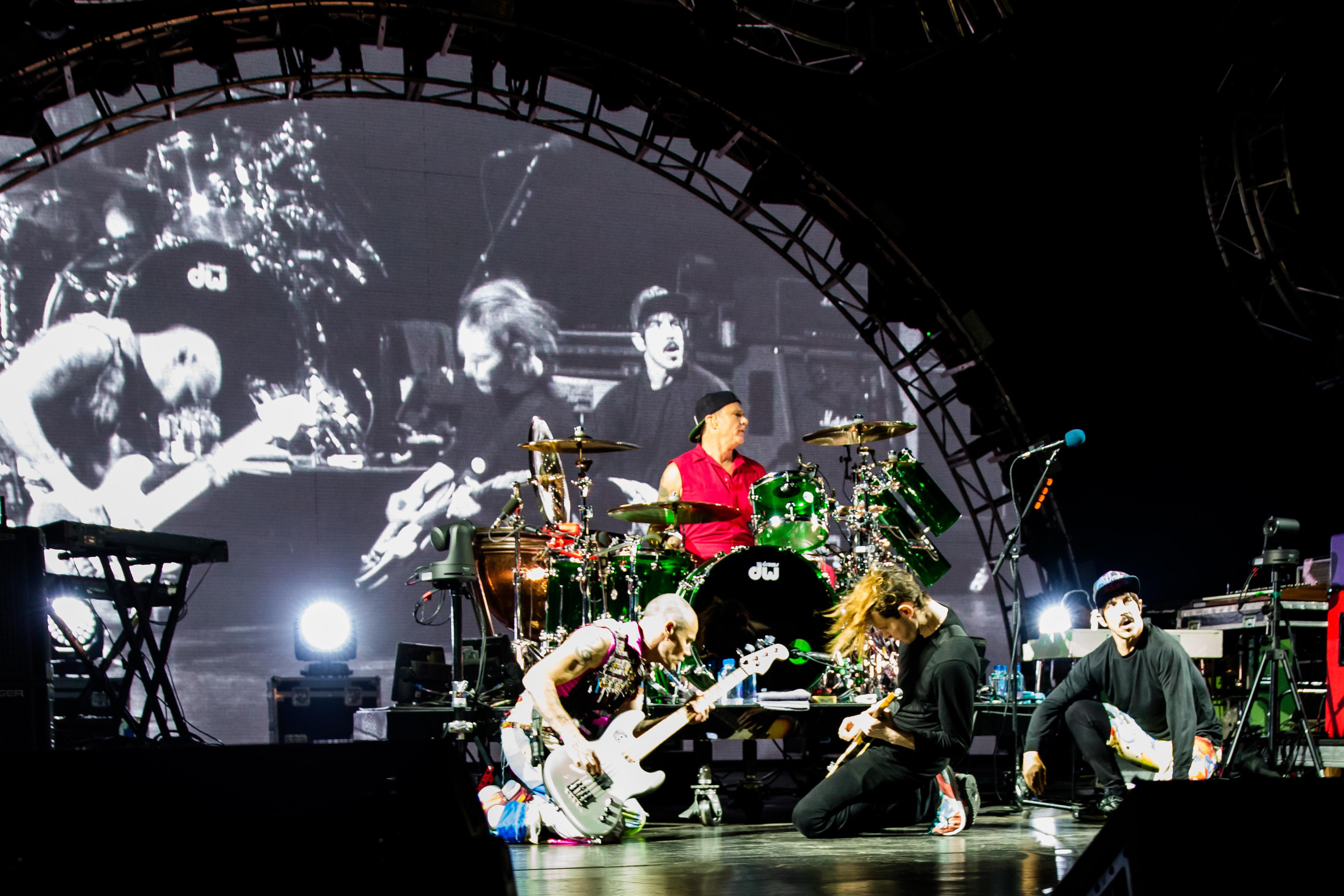 Die Red Hot Chili Peppers kommen ebenfalls nach Polen.