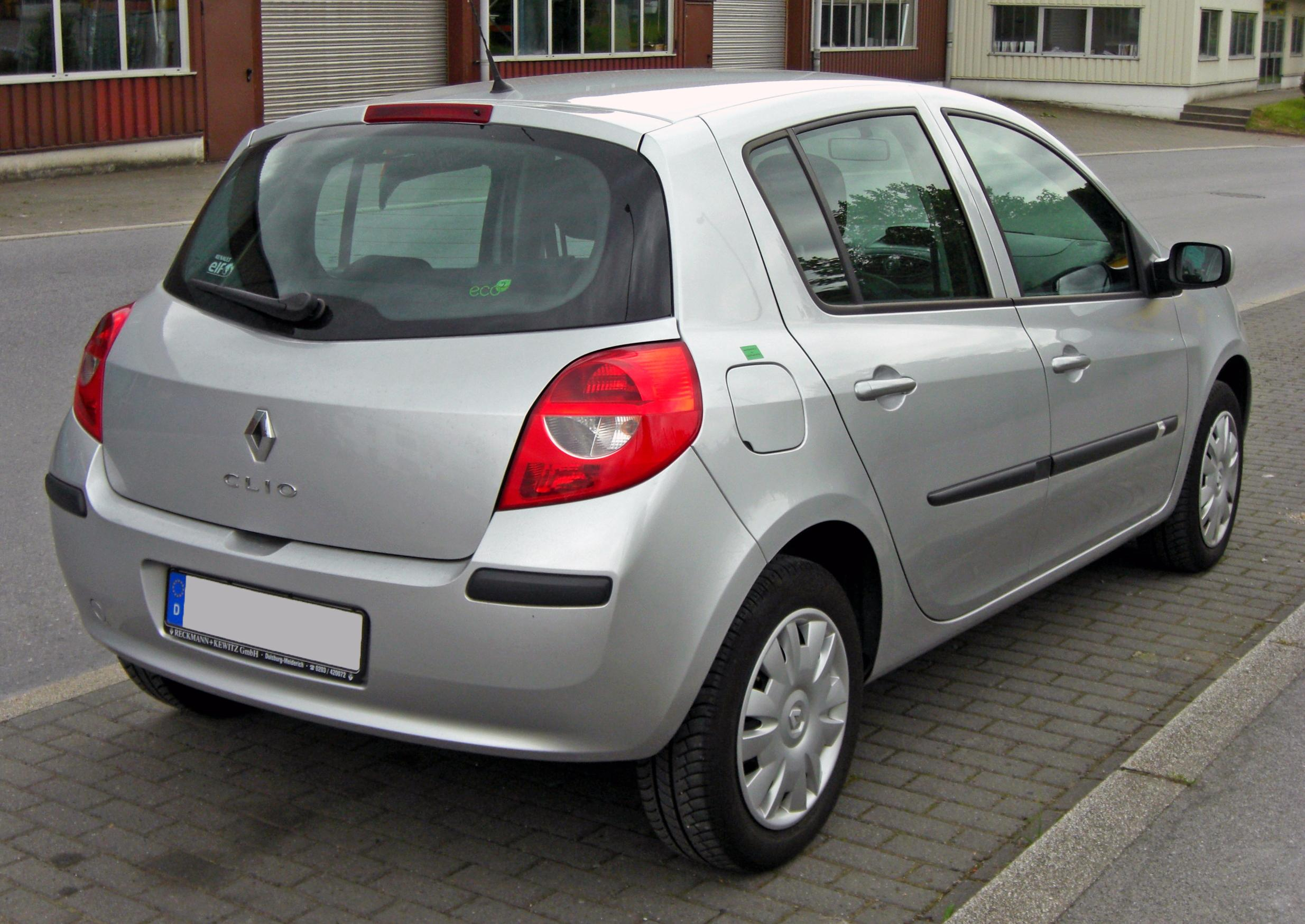 file renault clio iii 20090527 rear jpg wikimedia commons. Black Bedroom Furniture Sets. Home Design Ideas