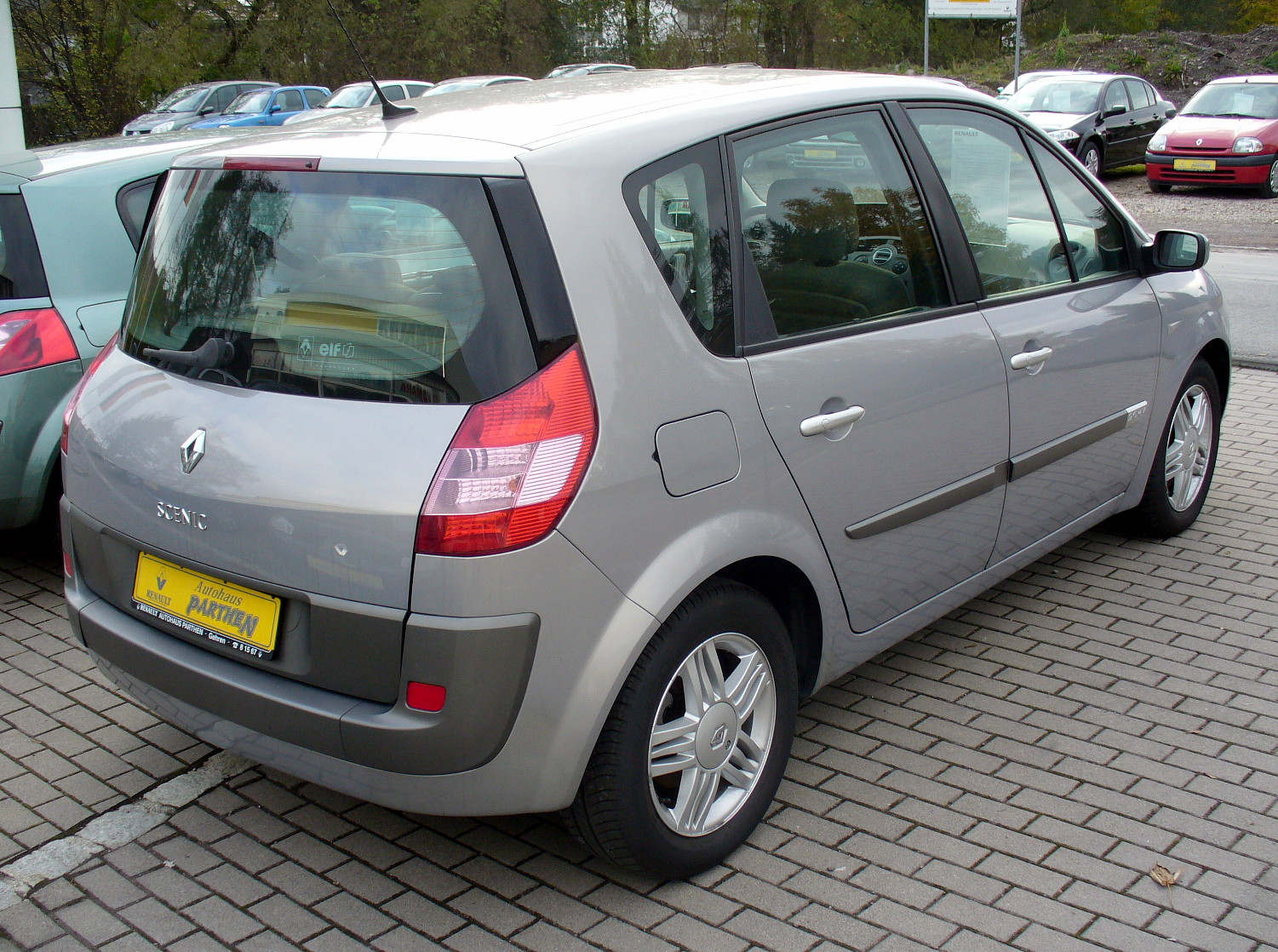 renault scenic related images start 50 weili automotive network. Black Bedroom Furniture Sets. Home Design Ideas