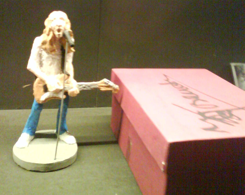 Rosendo en el Museo del rock de Barcelona