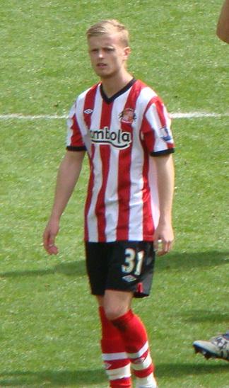 Noble playing for [[Sunderland A.F.C. Sunderland]]