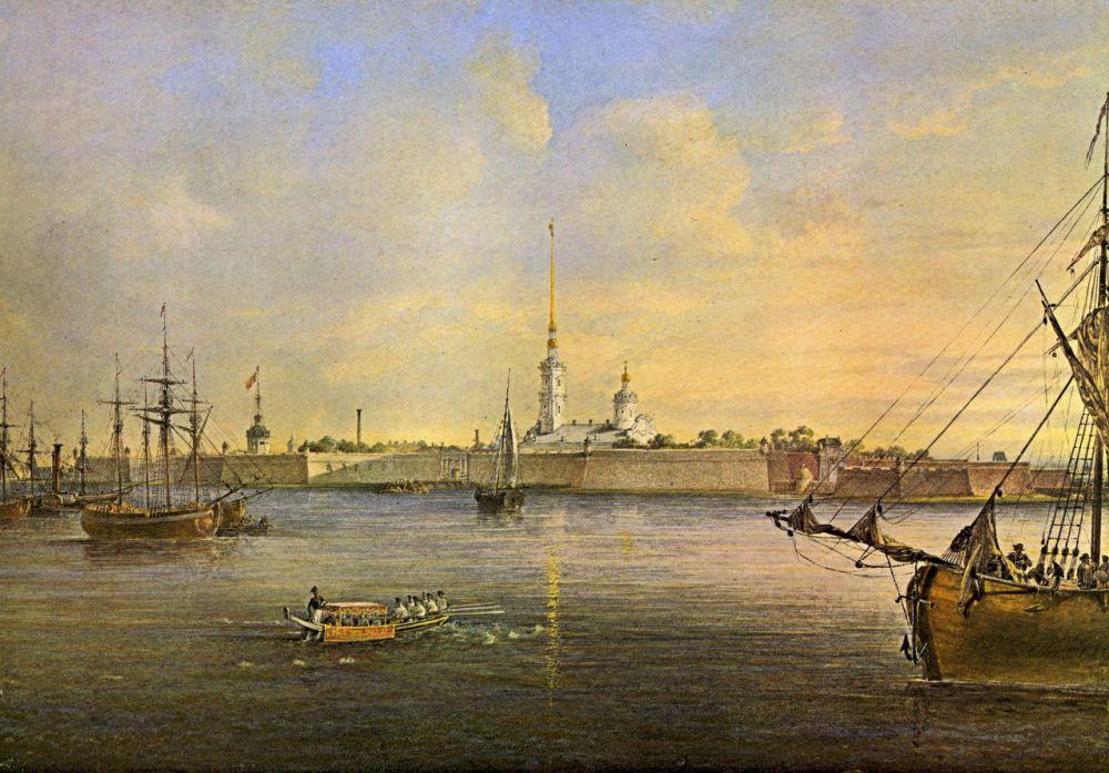 Картинки по запросу акварели по истории петербурга