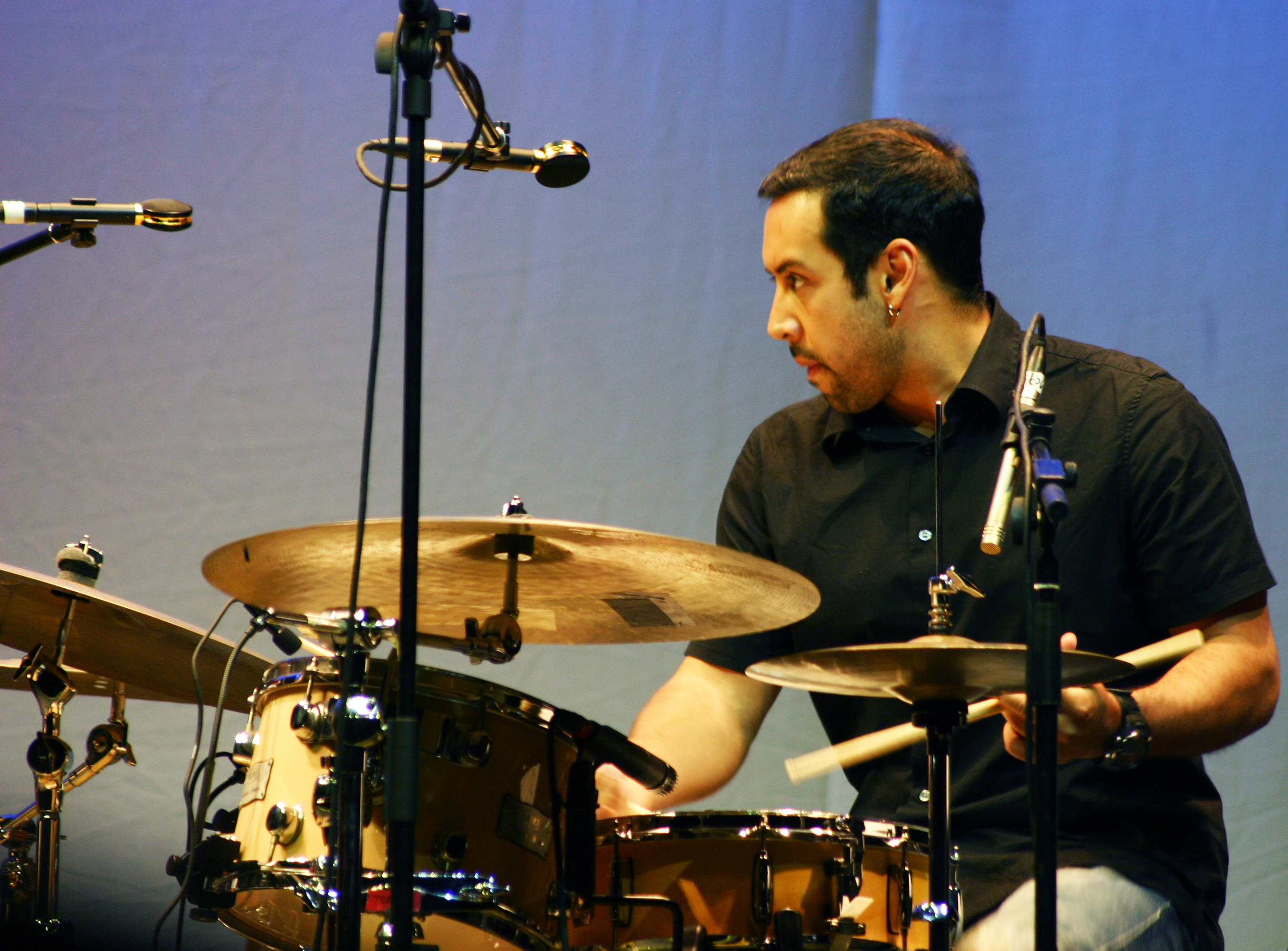Picture of a band or musician: Antonio Sánchez