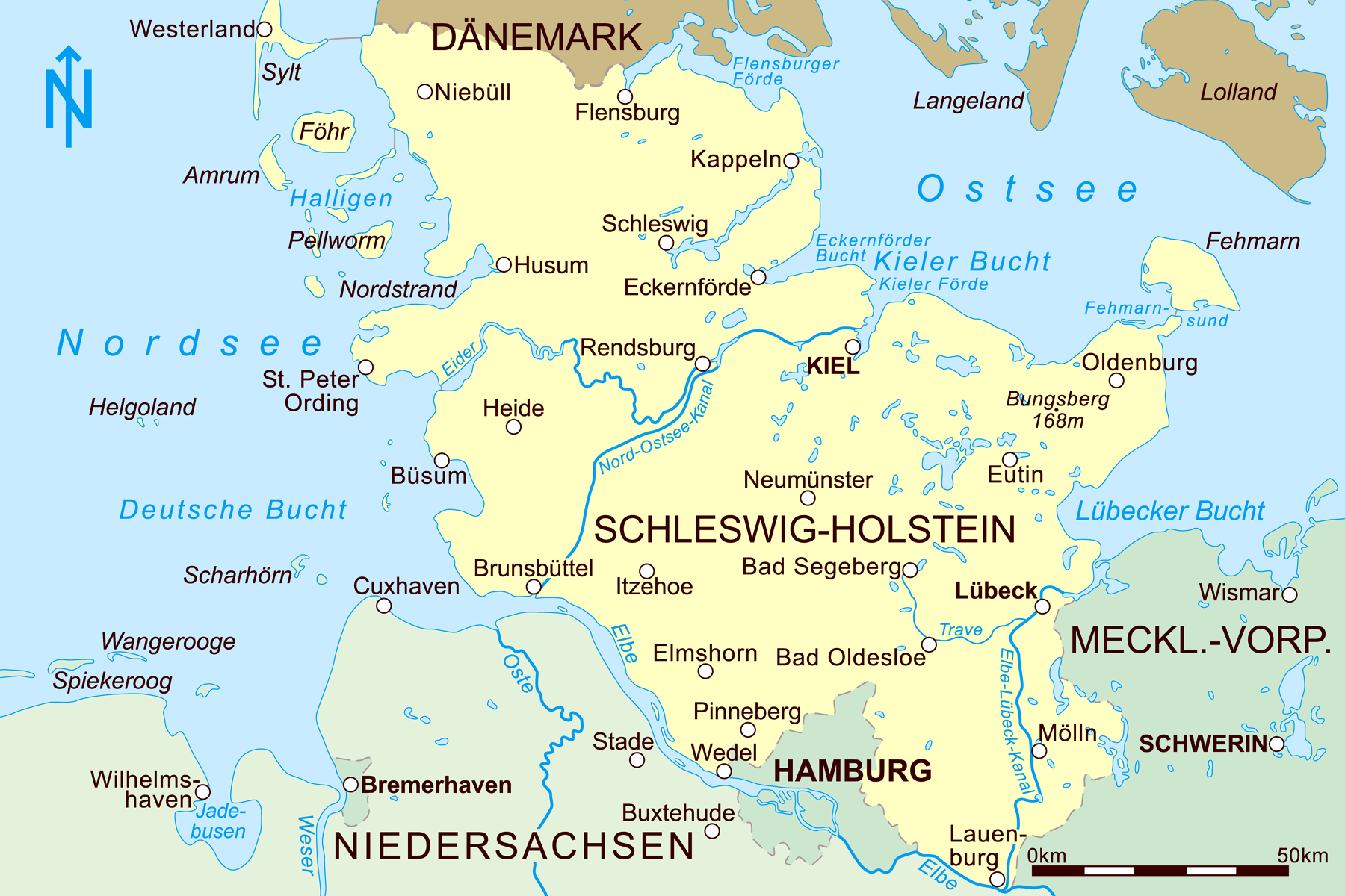 karte ostsee deutschland schleswig holstein Datei:Schleswig Holstein 2010.png – Wikipedia
