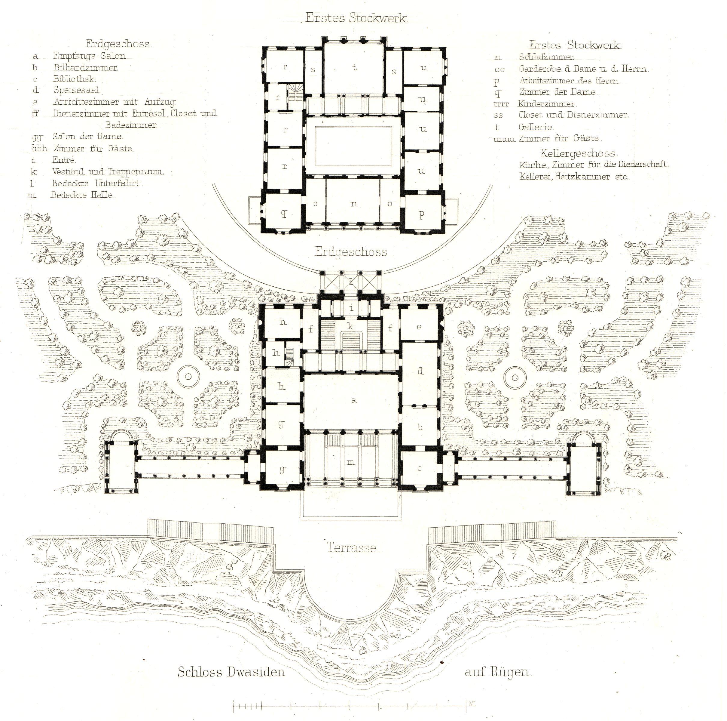 Goldschmiede herrenhaus erdgeschoss grundriss