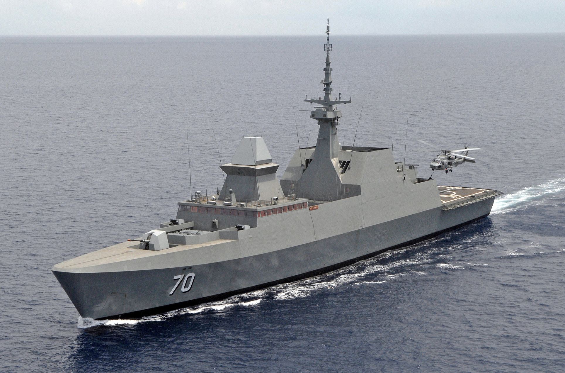 Description Singapore Navy guided-missile frigate RSS Steadfast.jpg
