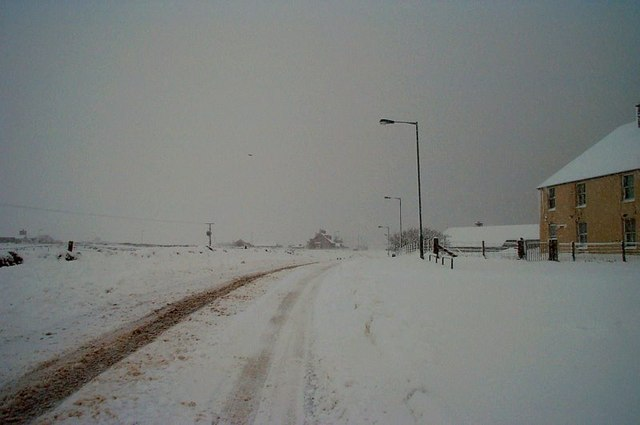 File:Snow at Daisy Park, Baltasound - geograph.org.uk - 1505196.jpg