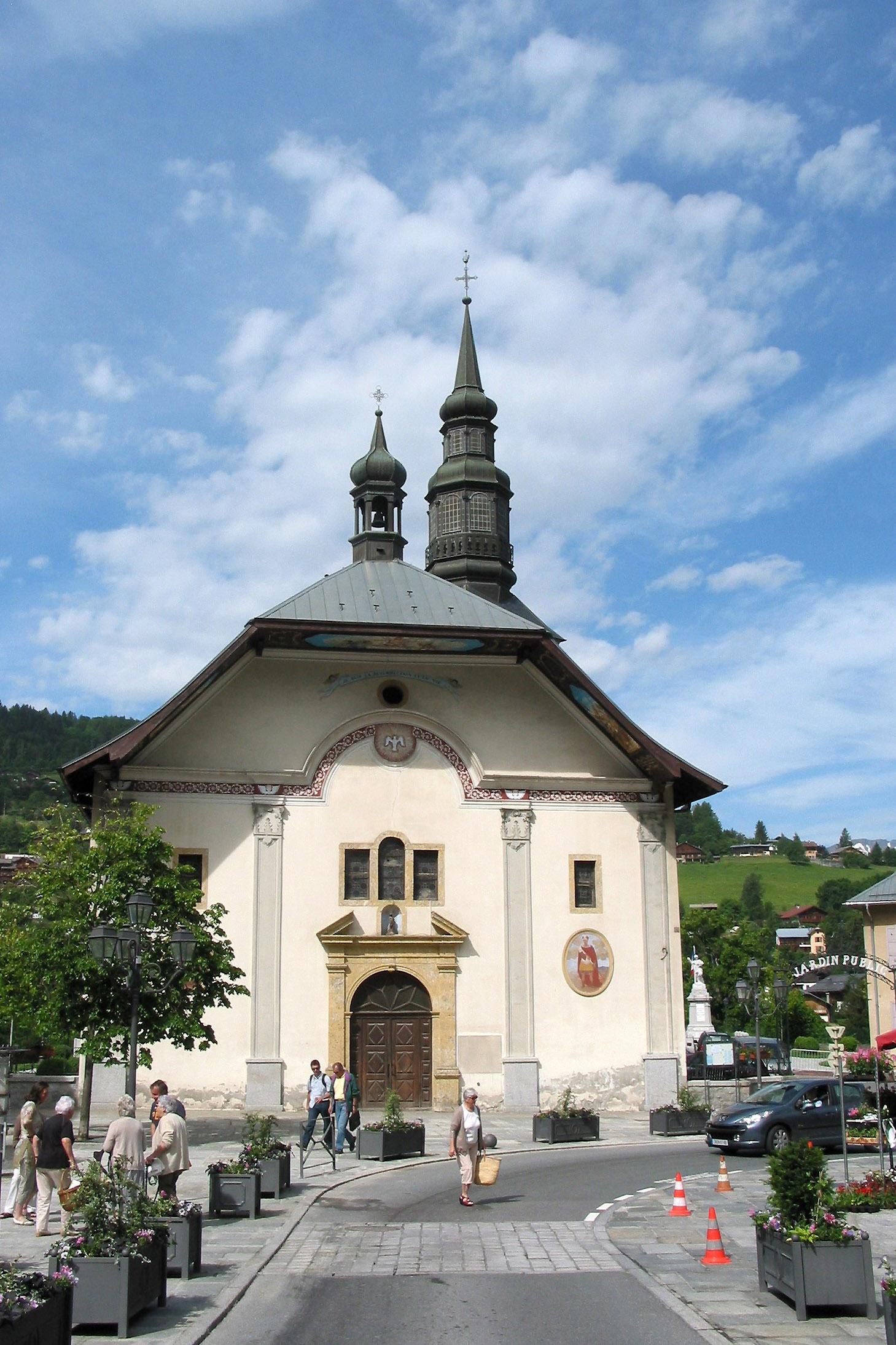 Saint gervais les bains wikiwand - Office de tourisme de saint gervais les bains ...