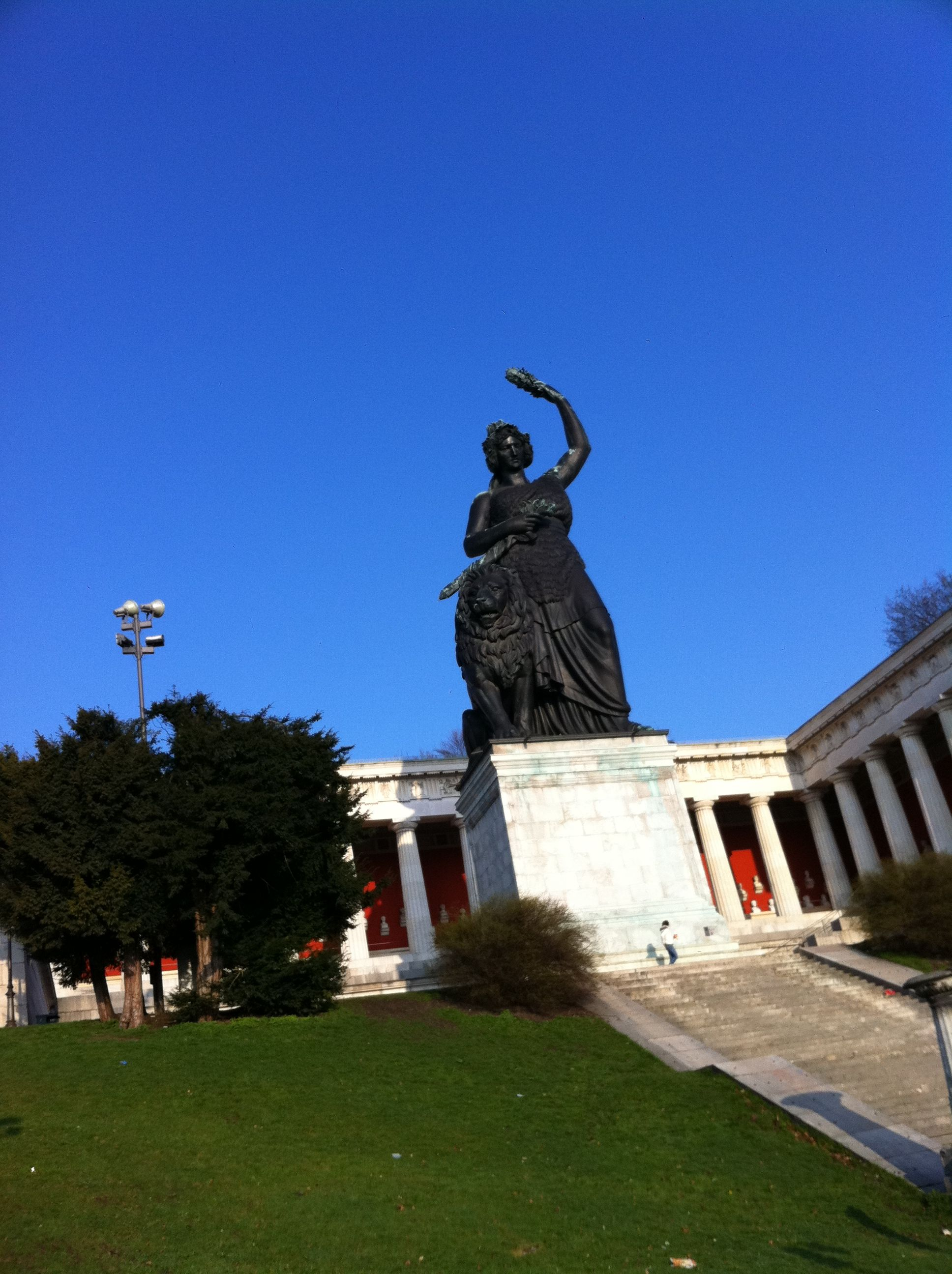 Oktoberfest, Bavaria Statue, Iconic, Large, Monument