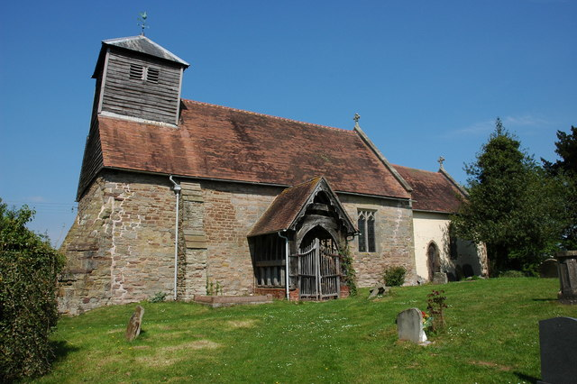 Stockton on Teme Church