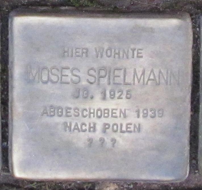 Stolpersteine in Ettlingen Moses Spielmann Marktstr 6 (fcm).jpg