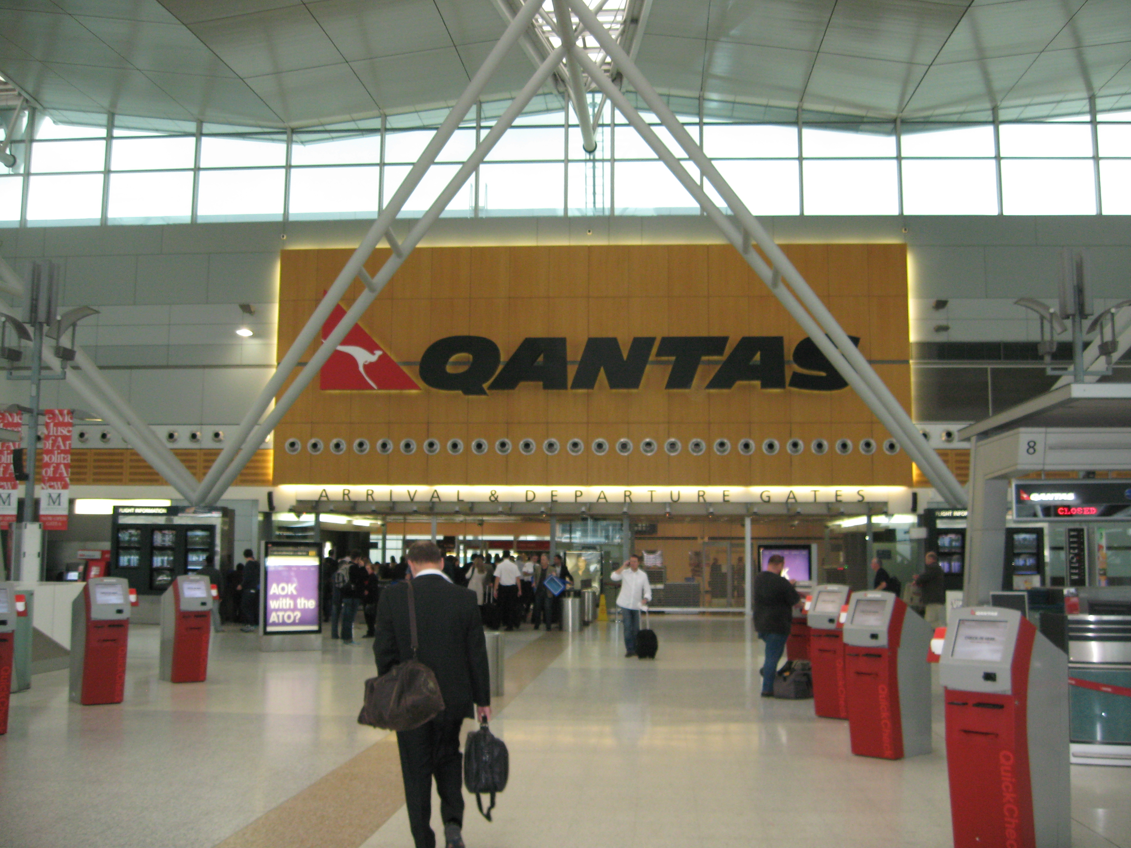 sydney airport - photo #30