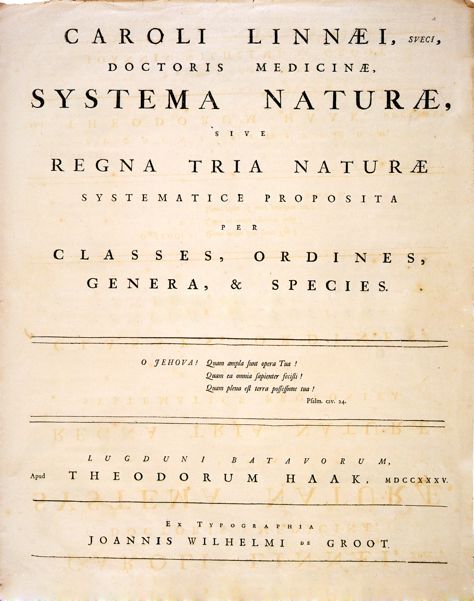 Systema Naturae - Wikiwand