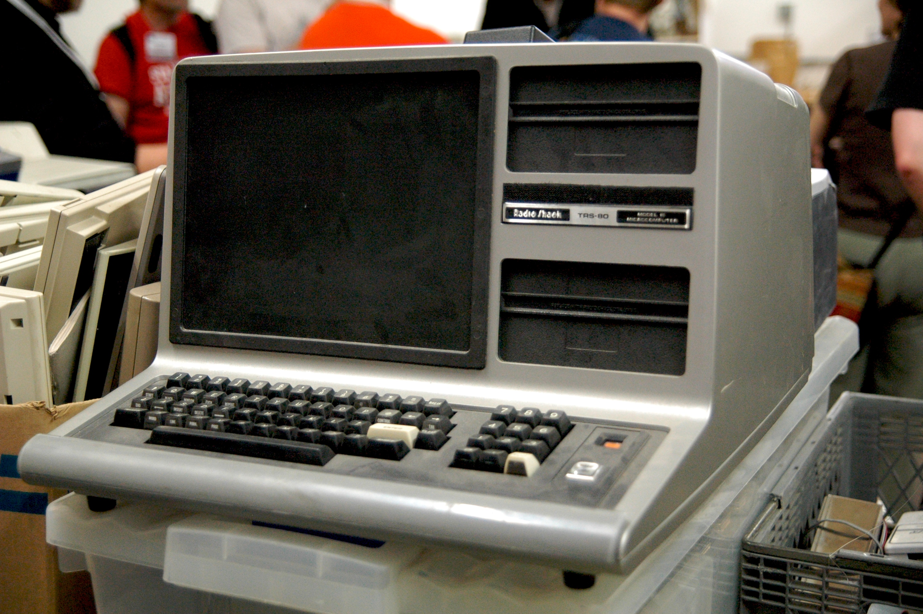 The good old TRS-80 Model III