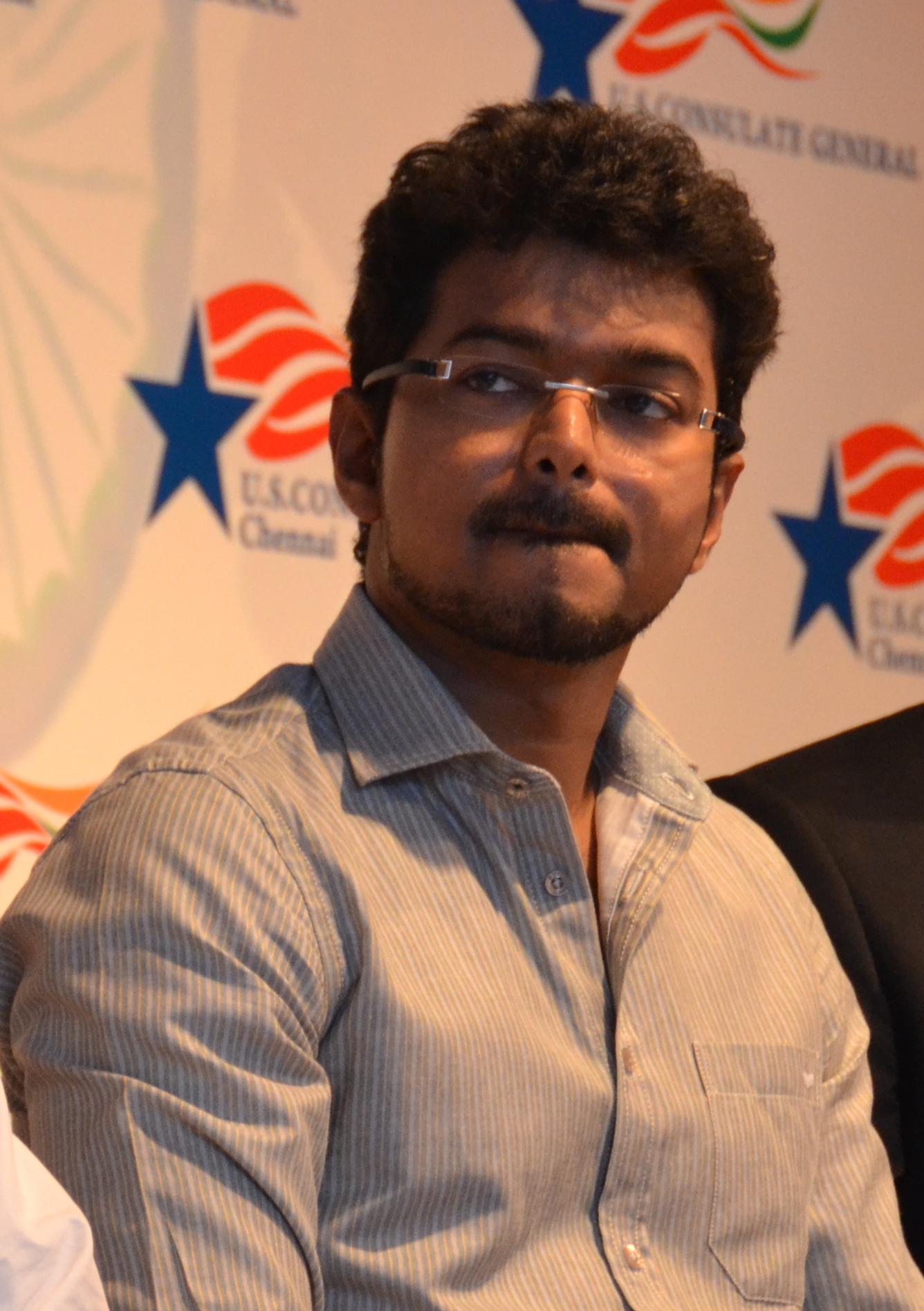 Dateitamil Film Actor Vijay Celebrating World Environment Day At