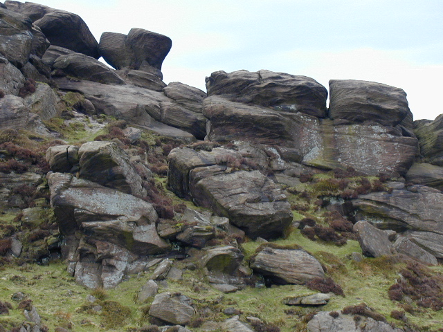 The Roaches - geograph.org.uk - 433677
