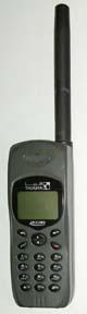 Un telefono satellitare portatile