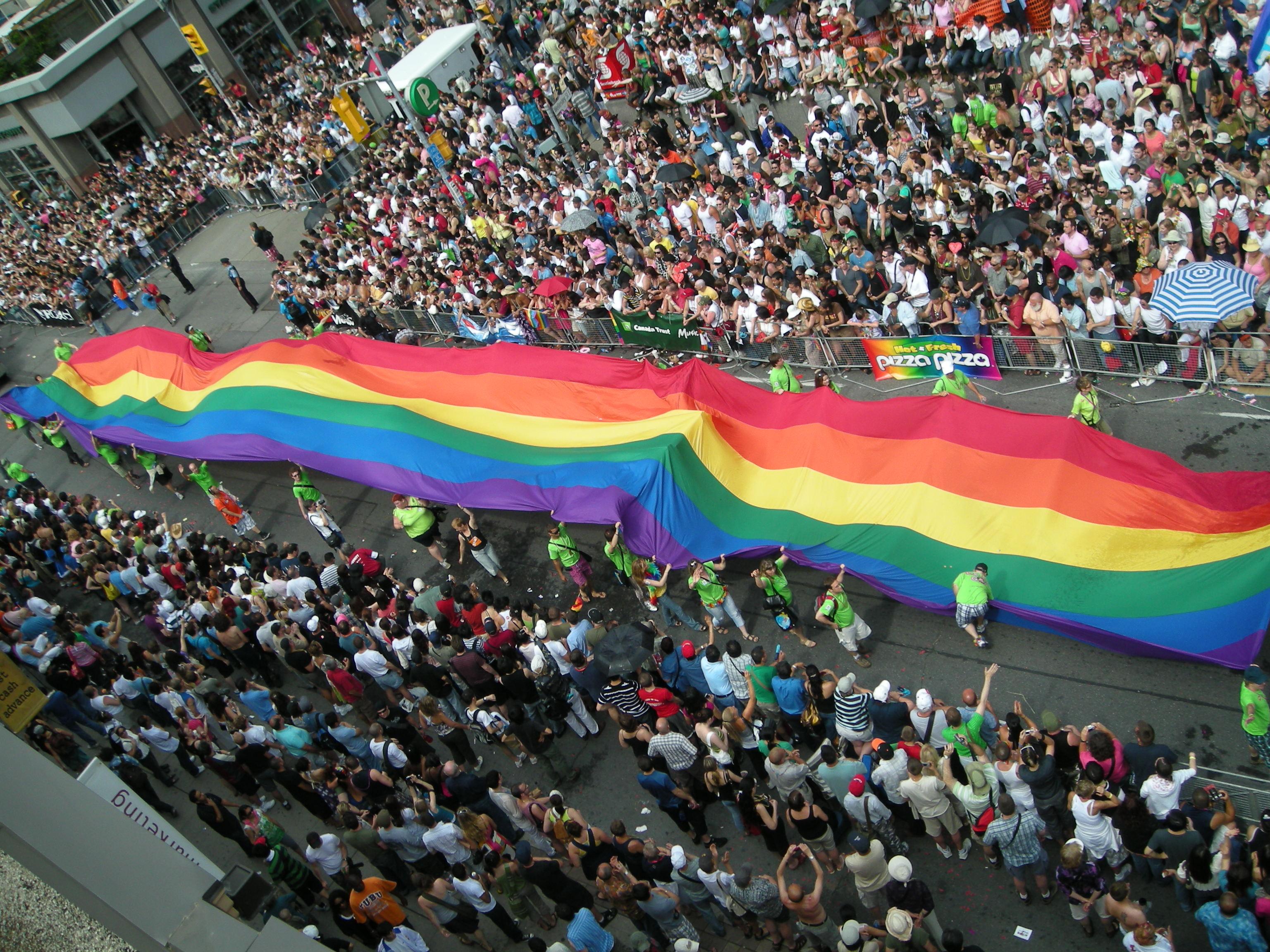 Totonto Pride 2008 - Quelle: wikicommons