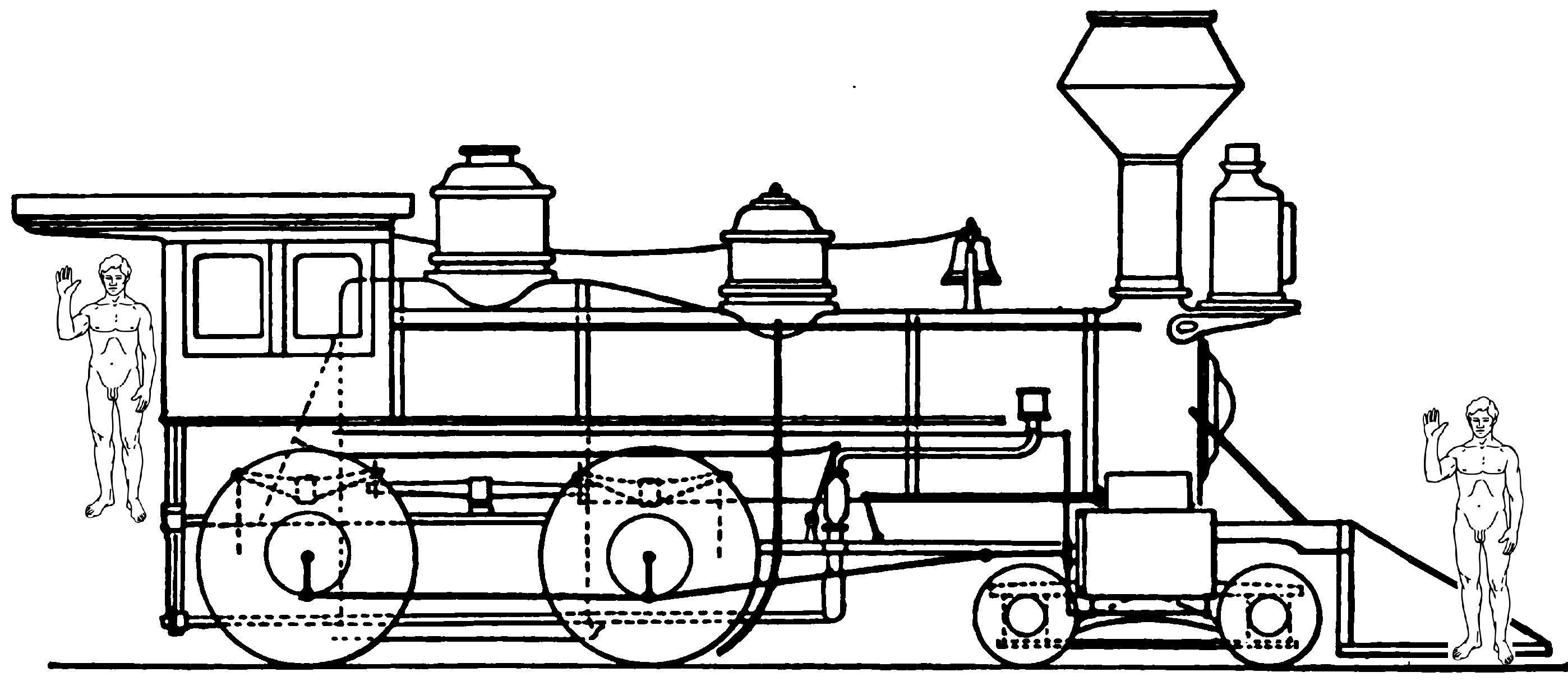 Line Drawing Train : File train scale a g wikimedia commons