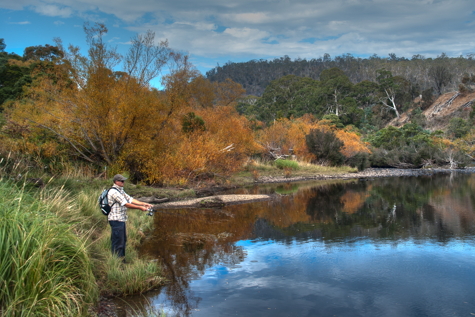 Fishing in Central Highlands
