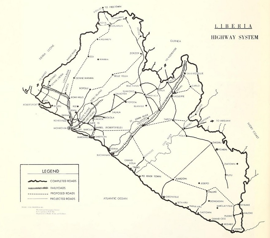 file u s doc 1965 liberia map highway system jpg