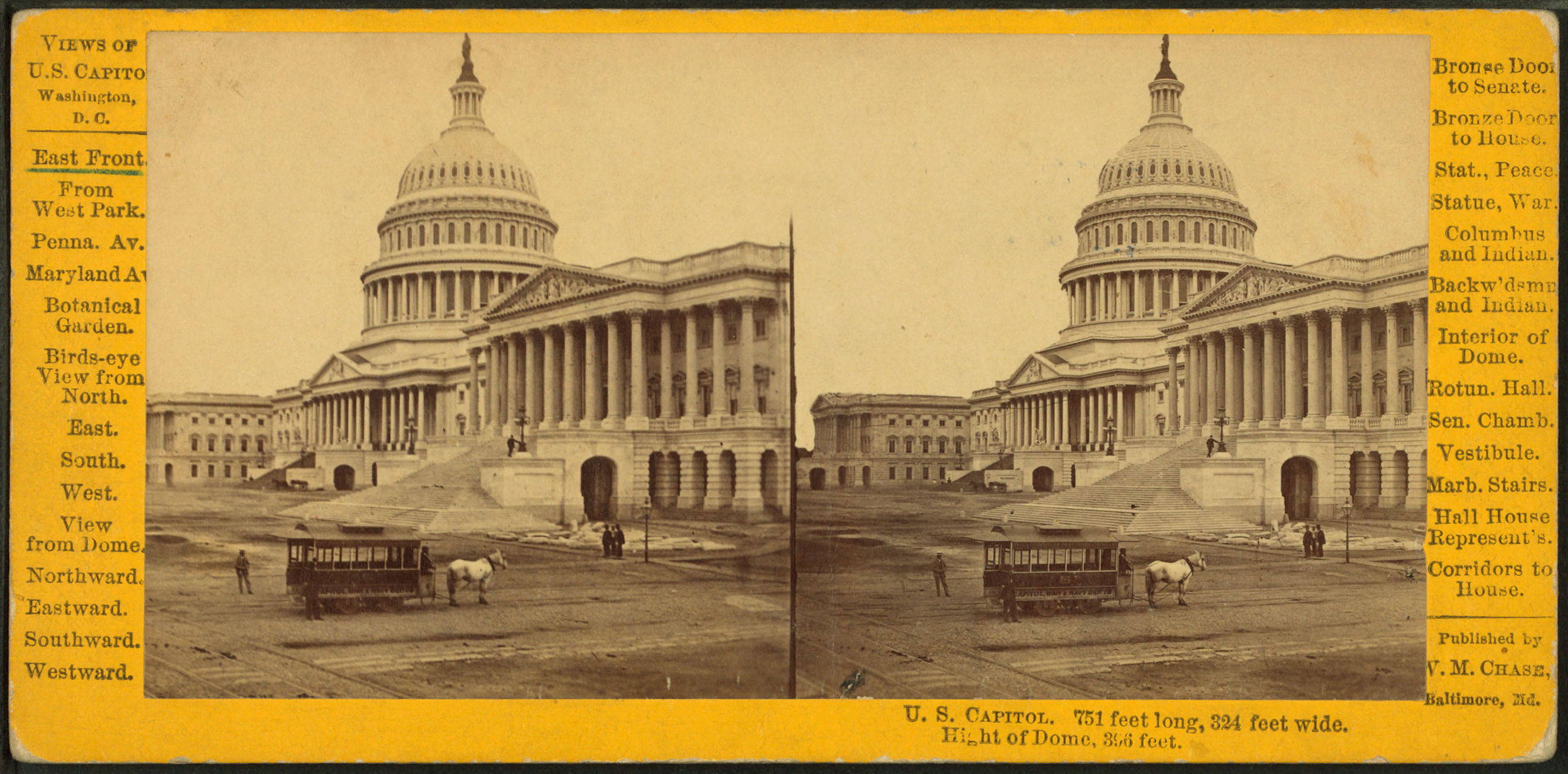 File:U.S. Capitol. East Front, by Chase, W. M. (William M.), 1818 ...