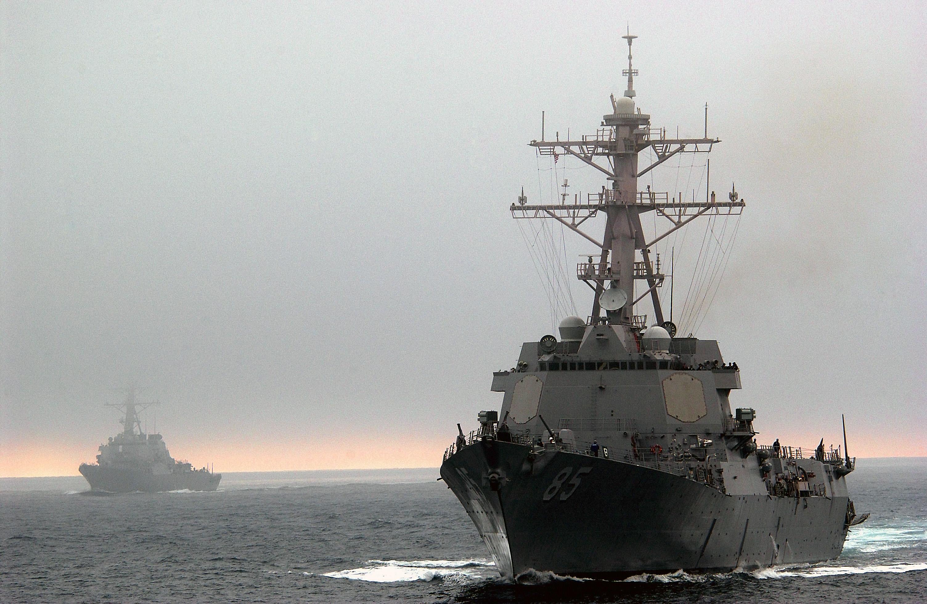 """США відправили ракетний есмінець USS McCampbell до Владивостока, щоб """"остудити"""" претензії РФ на море - Цензор.НЕТ 9048"""