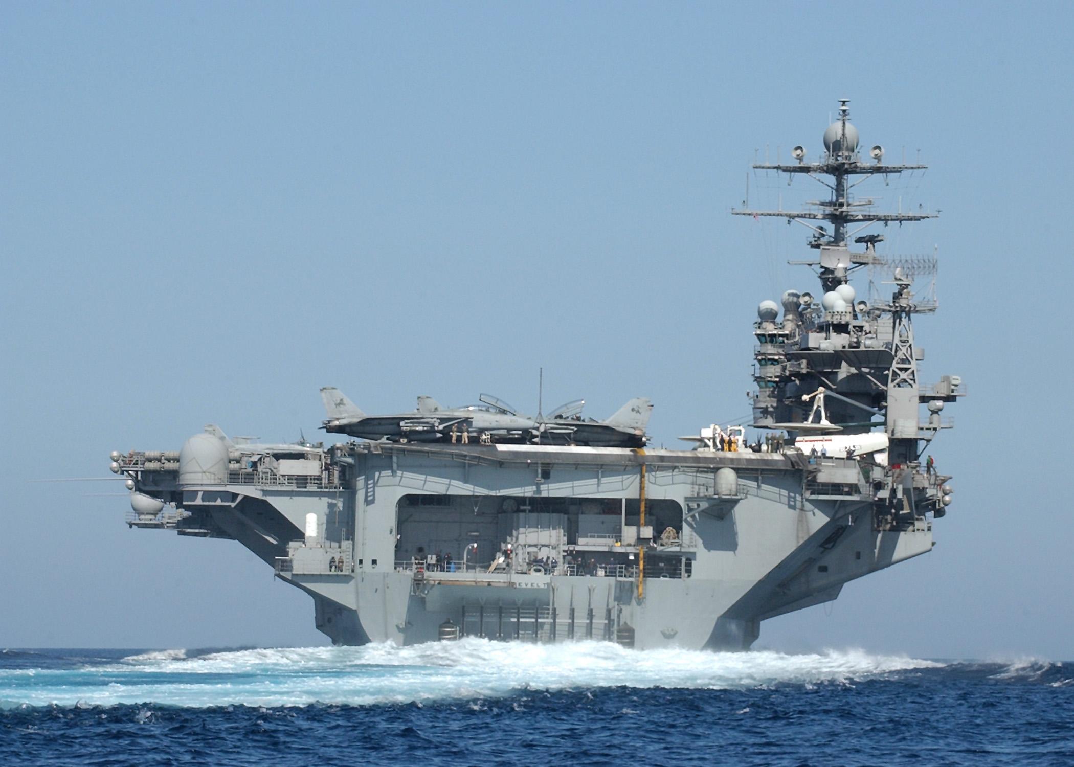 World S Largest Cruise Ship File Uss Theodore Roosevelt Souda Bay Jpg Wikimedia