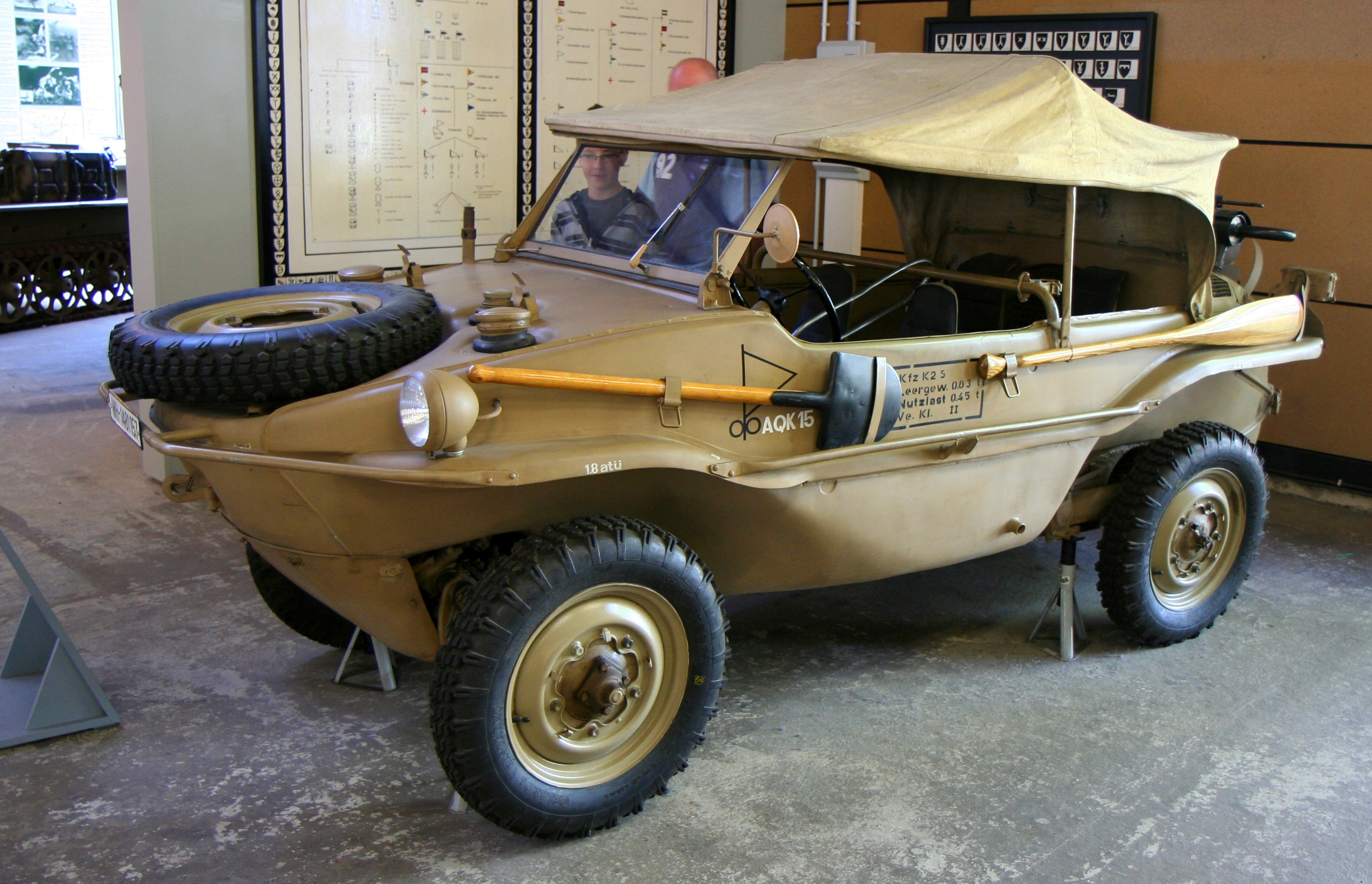 Storm The Beach In A 1940s Vw Schwimmwagen 95 Octane