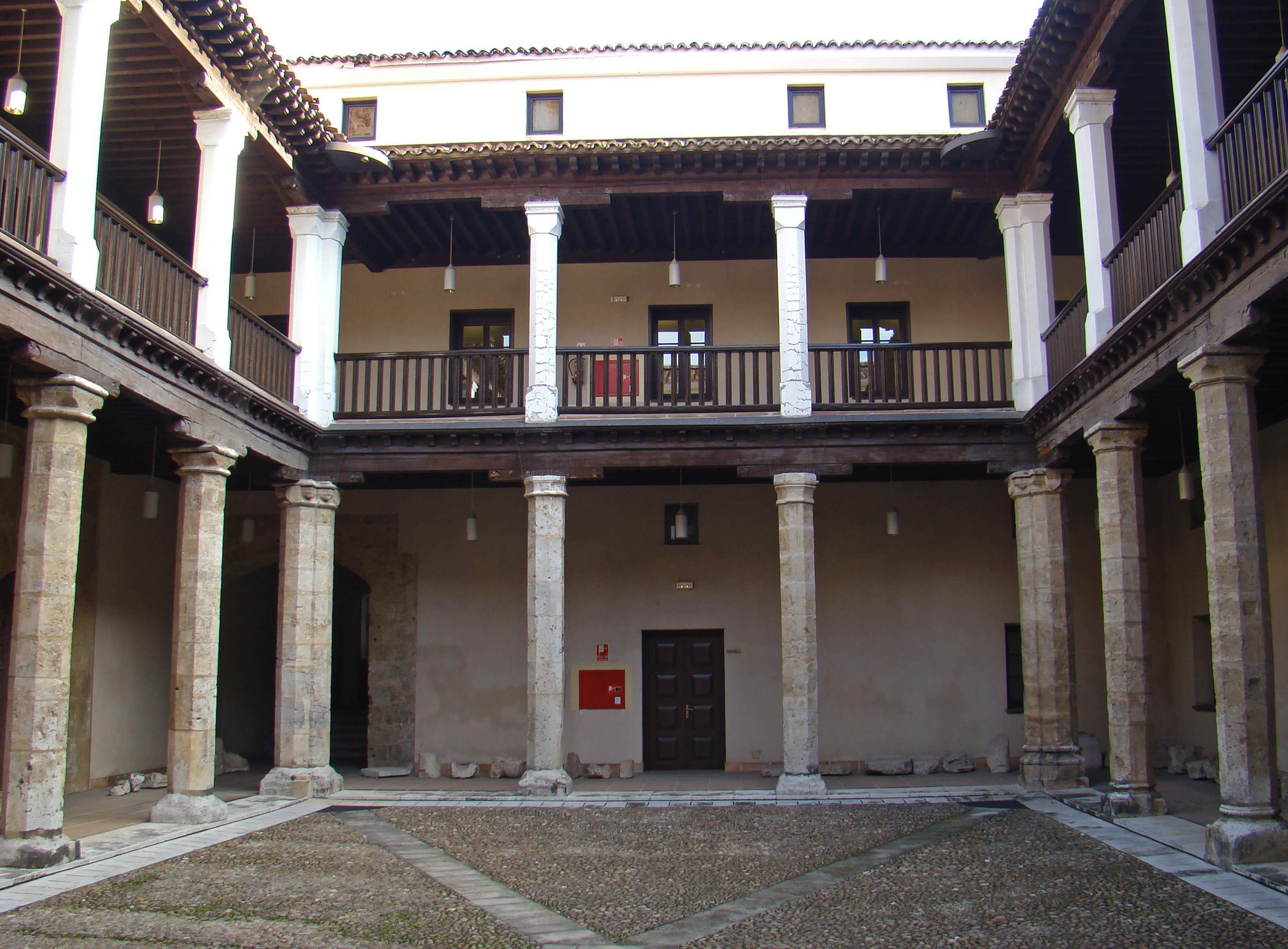 File valladolid palacio vivero patio wikimedia for Viveros valladolid