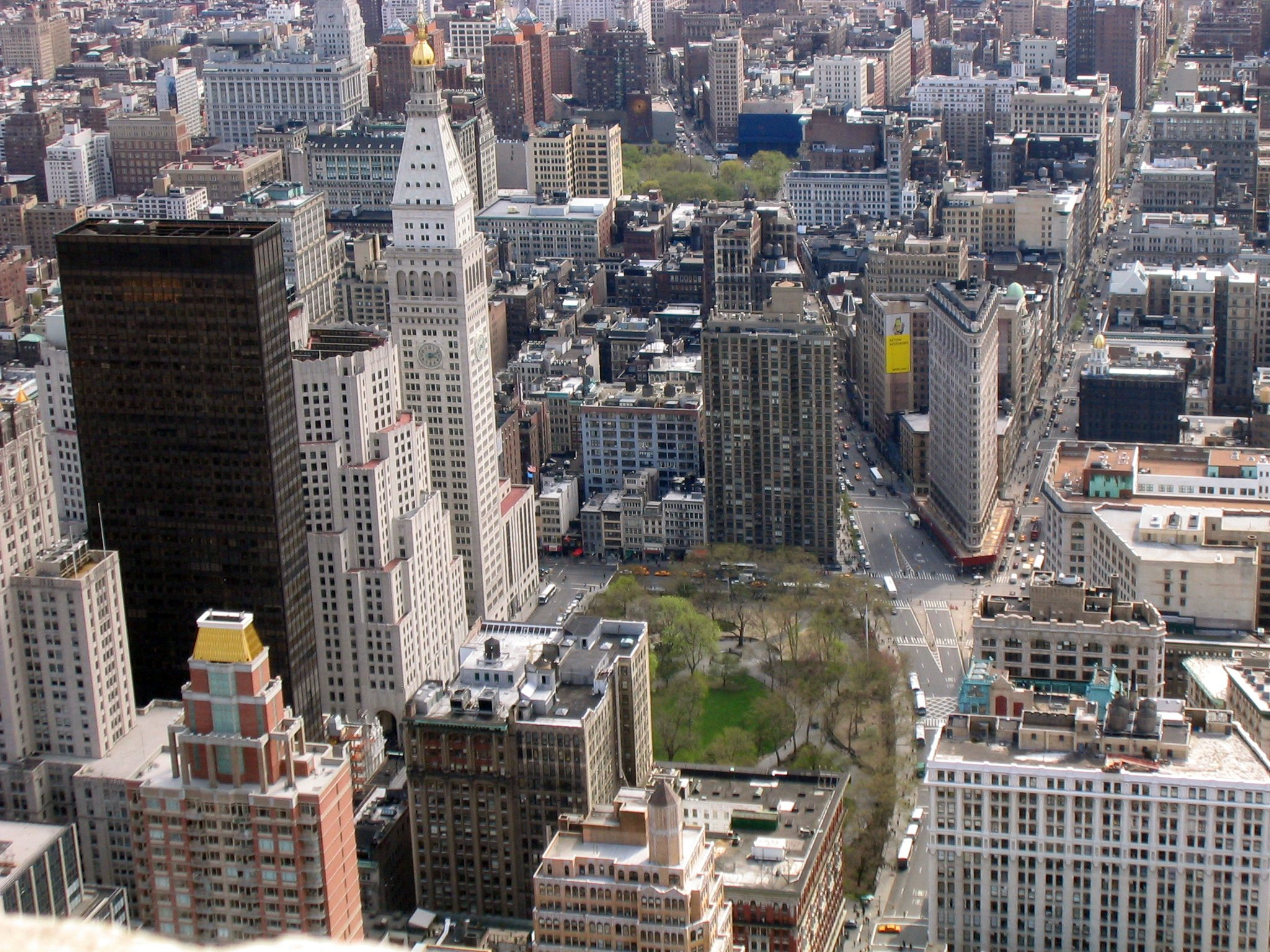 Fileview Of Madison Square And The Flatiron Buildingjpg