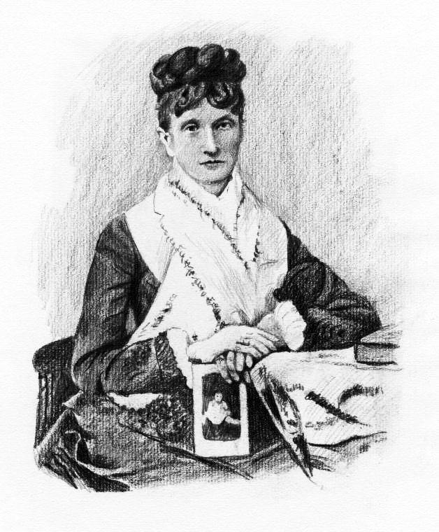 Nadezhda von Meck, la mecenas y confidente de Chaikovski desde 1877 hasta 1890.