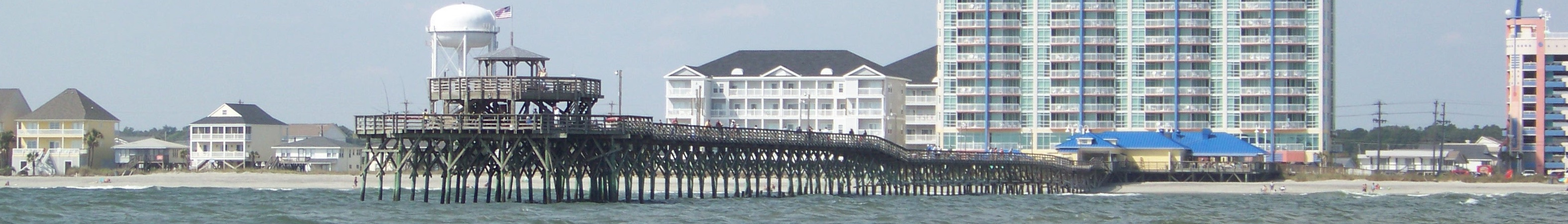 Wv banner grand strand cherry grove pier