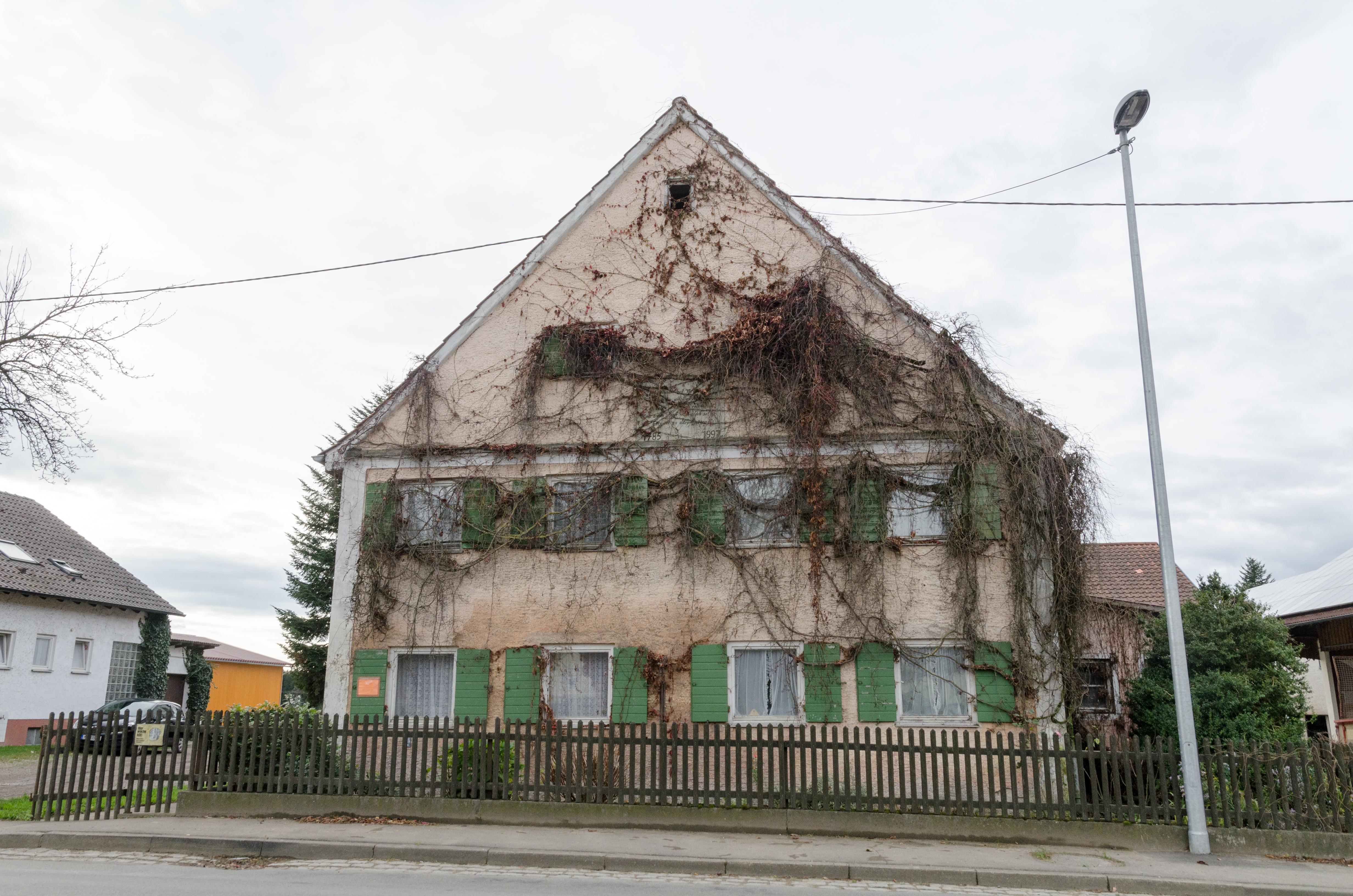 Datei:Weißenhorn, Bubenhausen, Babenhauser Straße 46, 001.jpg ...