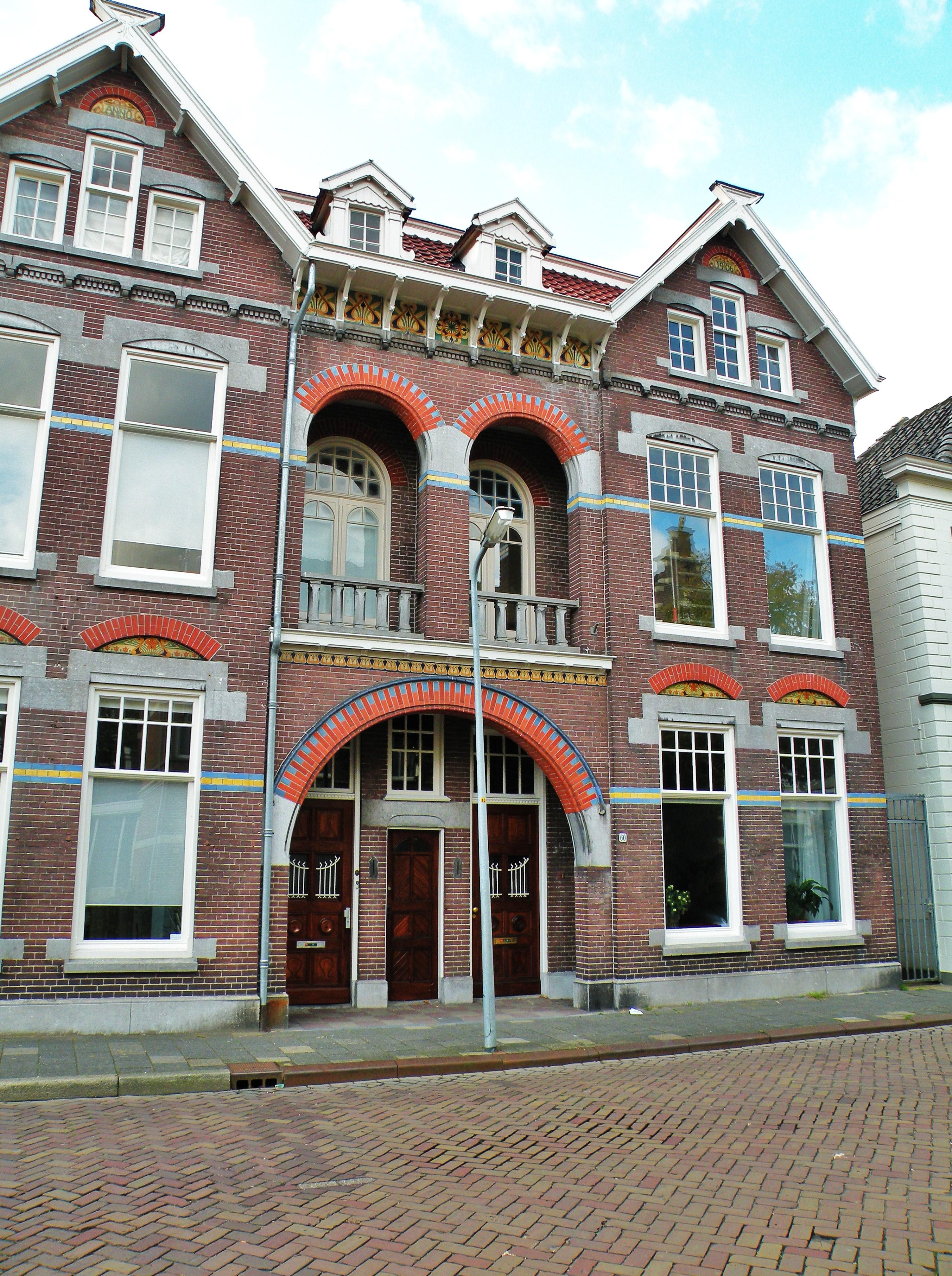 Aangeboden door: Stichting Microtoerisme InZicht Fotoblog Meppel Zuideinde 60-62 Jugendstil woonhuis