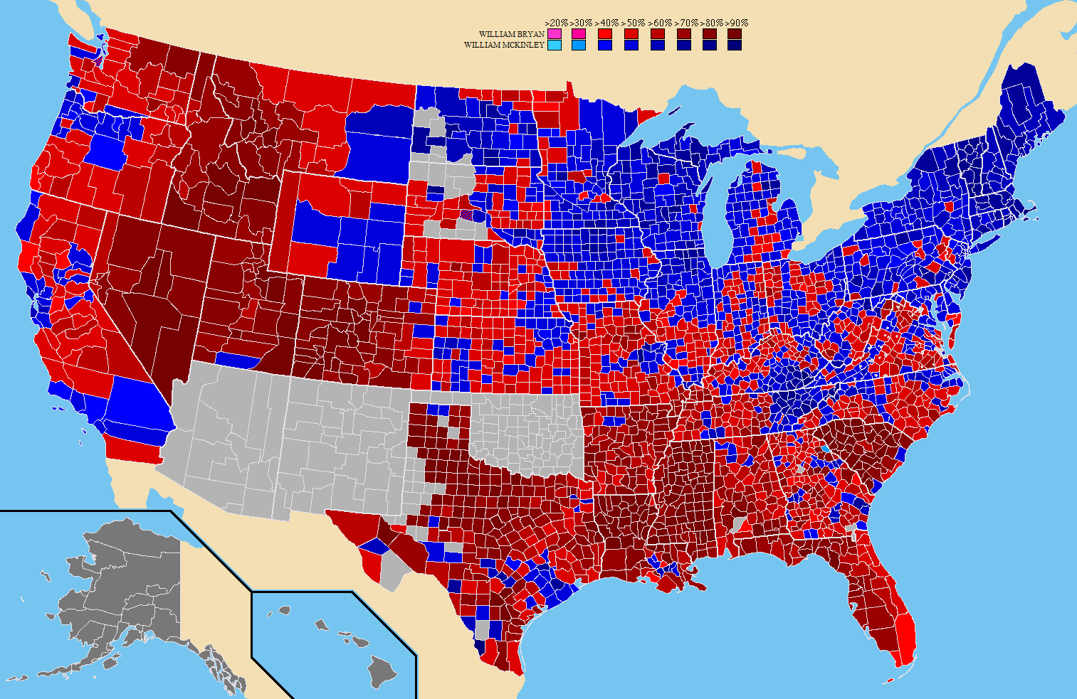 File:1896 United States Presidential Election County Map.png ...