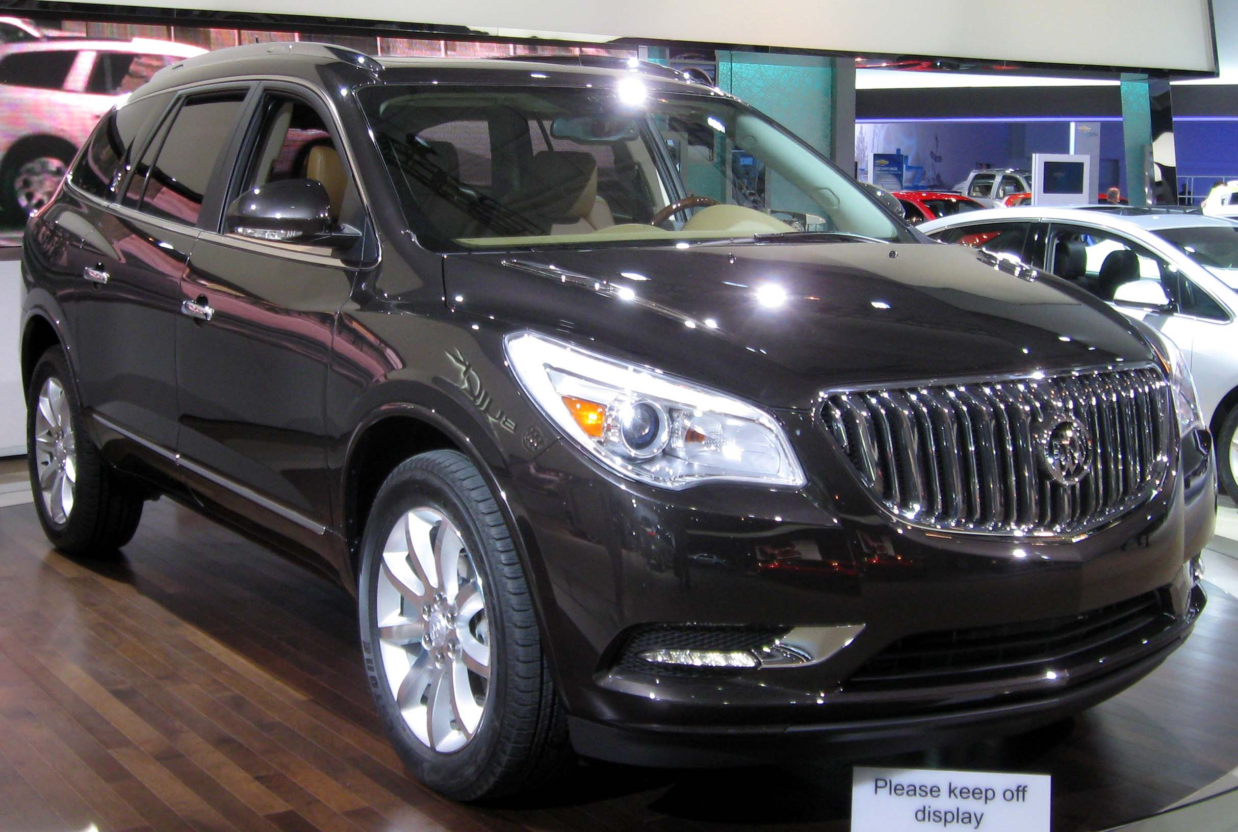 File2013 Buick Enclave  2012 NYIAS 2JPG  Wikimedia Commons